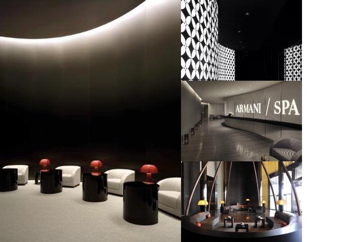 Armani Hotel Dubai photo collage