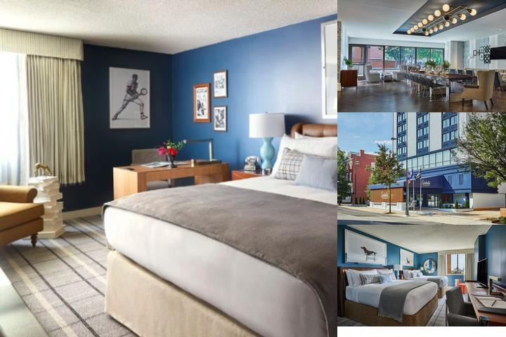 Doubletree Downtown Richmond photo collage