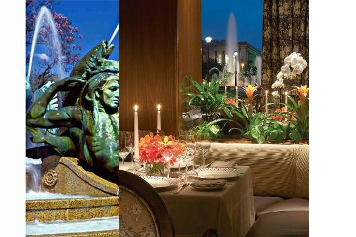 Four Seasons Hotel Philadelphia photo collage
