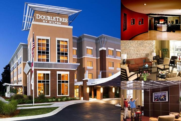 The Doubletree by Hilton Savannah Airport photo collage