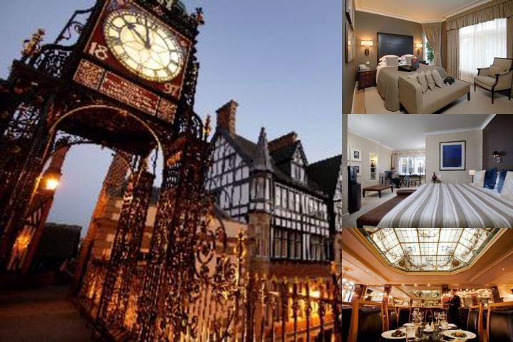 The Chester Grosvenor Hotel photo collage