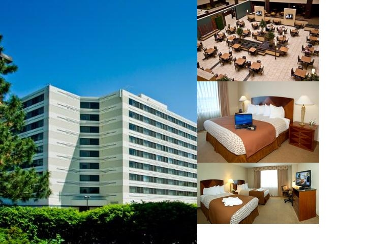 Embassy Suites Detroit Southfield photo collage