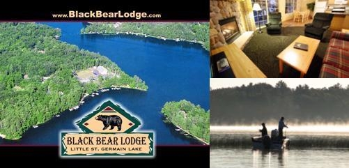 Black Bear Lodge photo collage