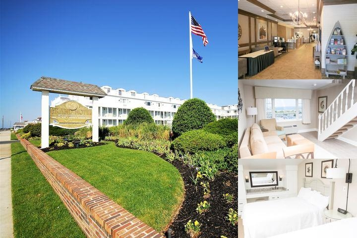 The Grand Hotel of Cape May photo collage