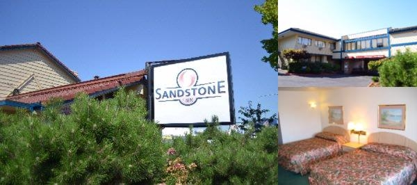 Sandstone Inn & Airport Parking photo collage
