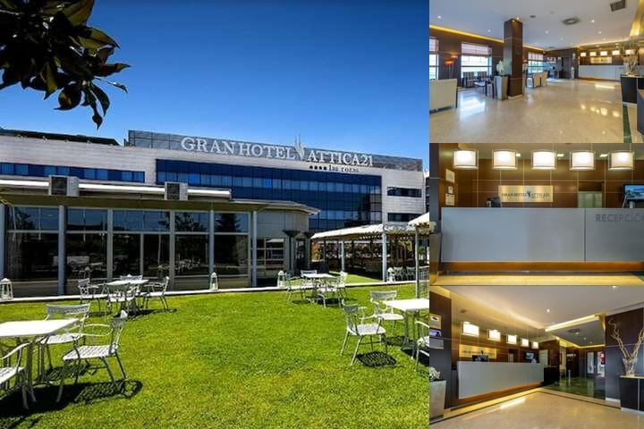 Gran Hotel Las Rozas photo collage