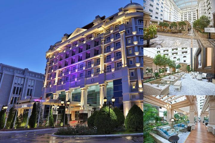 Rixos Almaty Hotel photo collage