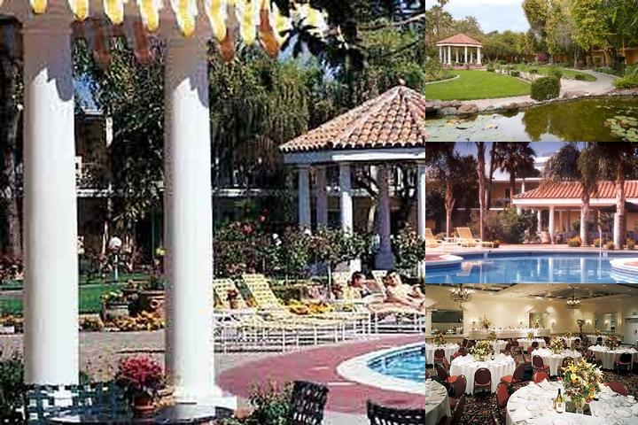 San Jose Airport Garden Hotel photo collage