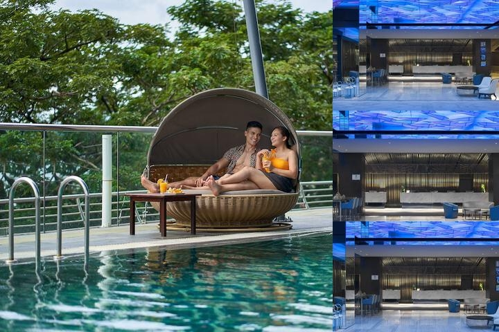 Le Meridien Kota Kinabalu photo collage