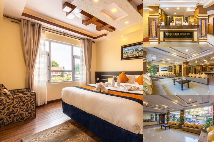 Hotel Norbu Linka photo collage