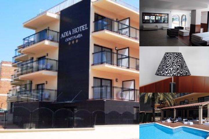 Hotel Adia Cunit Playa photo collage