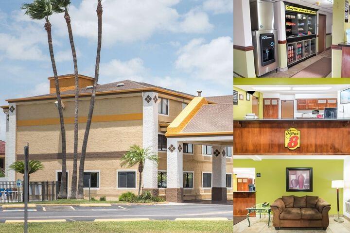 Super 8 Harlingen Tx photo collage