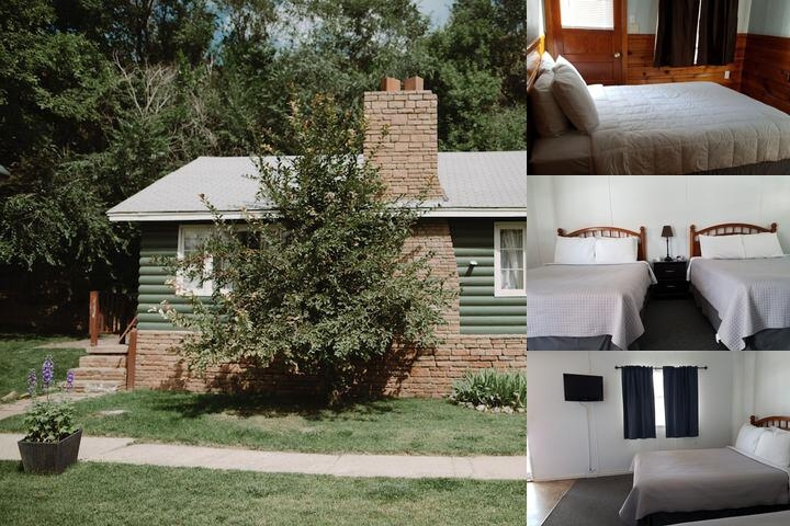 Stone Mountain Lodge & Cabins photo collage