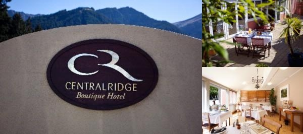 Central Ridge Boutique Hotel photo collage