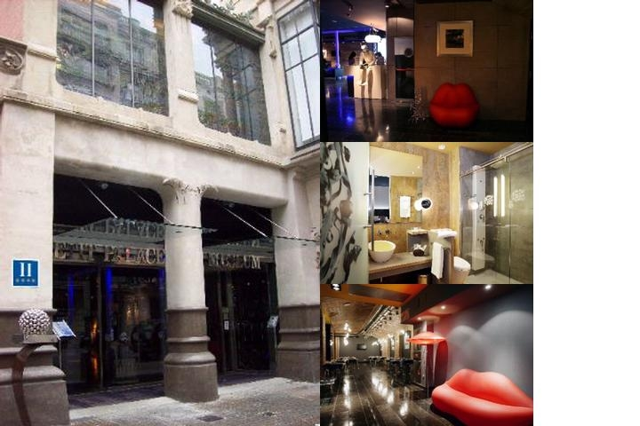 Hotel Petit Palace Museum photo collage