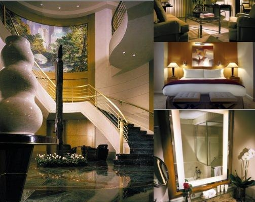 Sofitel New York photo collage