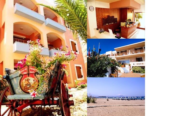 Aristea Hotel & Apartments photo collage