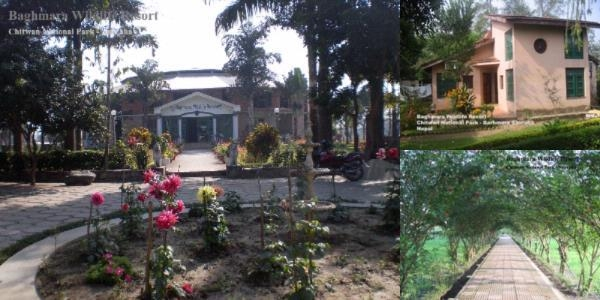 Baghmara Wildlife Resort photo collage