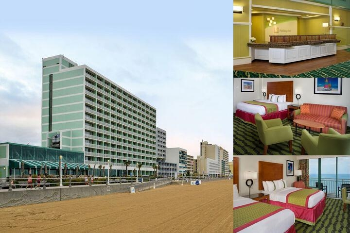 Holiday Inn Oceanside Va Beach photo collage