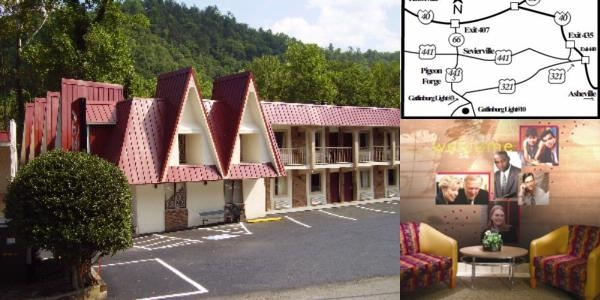 Motel 6 Gatlinburg Smoky Mountains photo collage