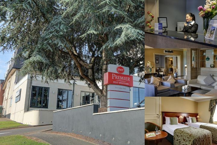 Best Western Premier East Midlands Airport Yew Lodge Hotel photo collage