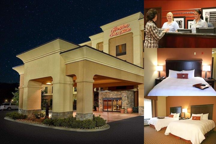 Hampton Inn & Suites Sevierville at Stadium Drive photo collage