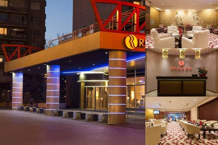 Ramada Sofia Hotel photo collage