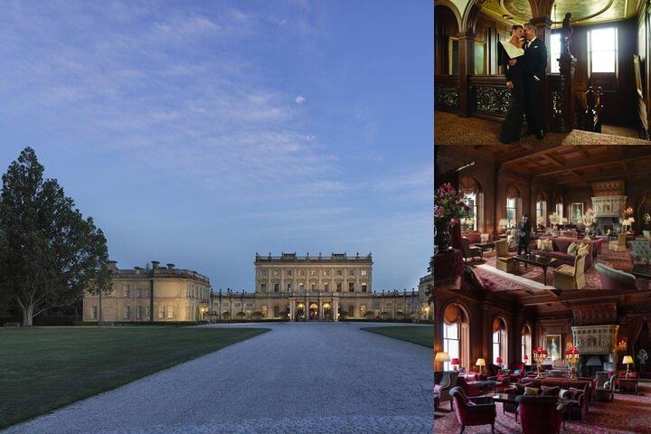 Cliveden Hotel photo collage