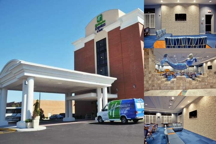 Holiday Inn Express & Suites Norfolk Airport photo collage