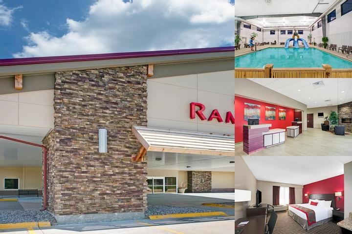 Ramada Columbus Rivers Edge Convention Center photo collage