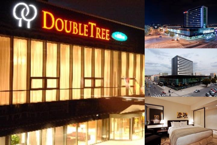 Doubletree by Hilton Hotel Kosice photo collage