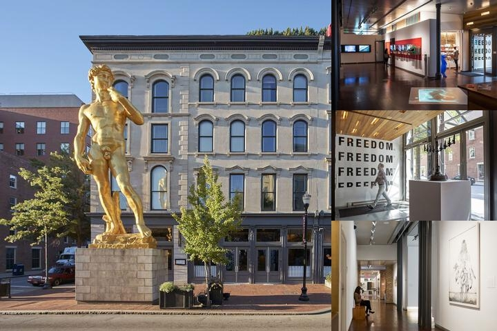 21c Museum Hotel Louisville photo collage