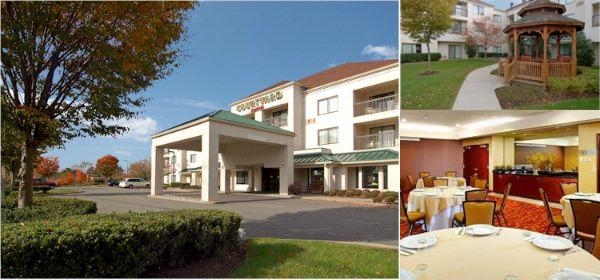 Courtyard by Marriott Princeton photo collage