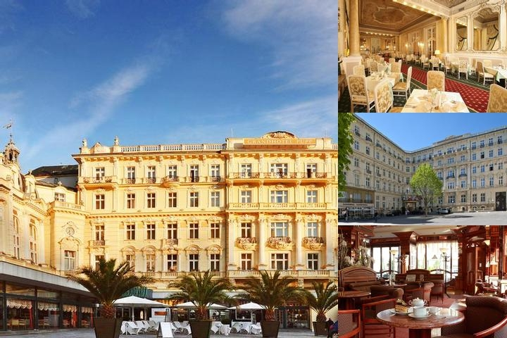 Grandhotel Pupp Karlovy Vary photo collage