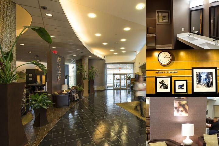 Hampton Inn & Suites Boston Crosstown Center photo collage