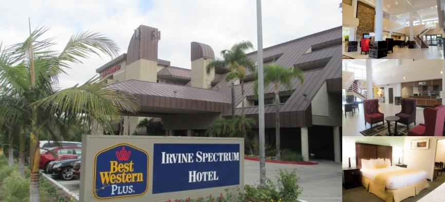 Irvine Inn & Suites photo collage