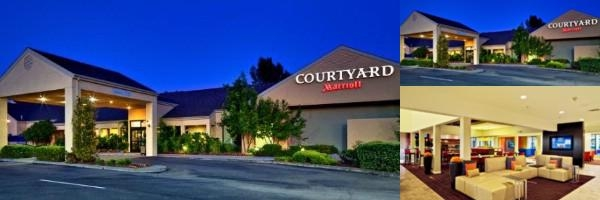 Vacaville Courtyard Marriott photo collage