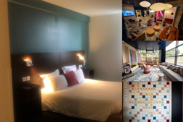 Hotel Balladins Gennevilliers Superior photo collage