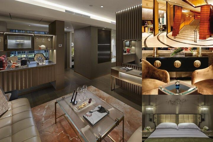 The Landmark Mandarin Oriental Hong Kong photo collage