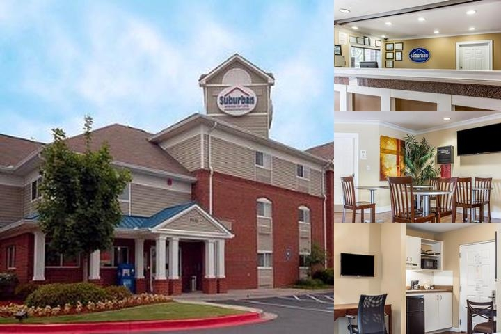 Suburban Extended Stay Hotel Kennesaw photo collage