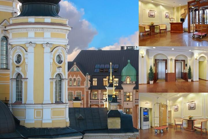 Hotel Dostoevsky photo collage