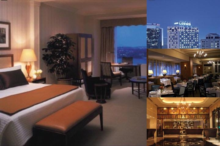 Loews New Orleans Hotel photo collage