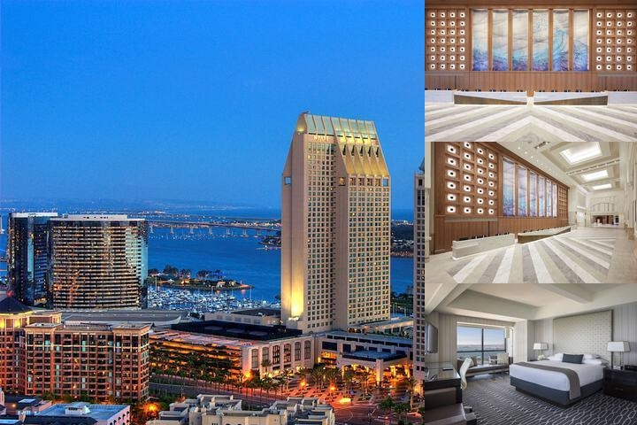 Manchester Grand Hyatt San Diego photo collage