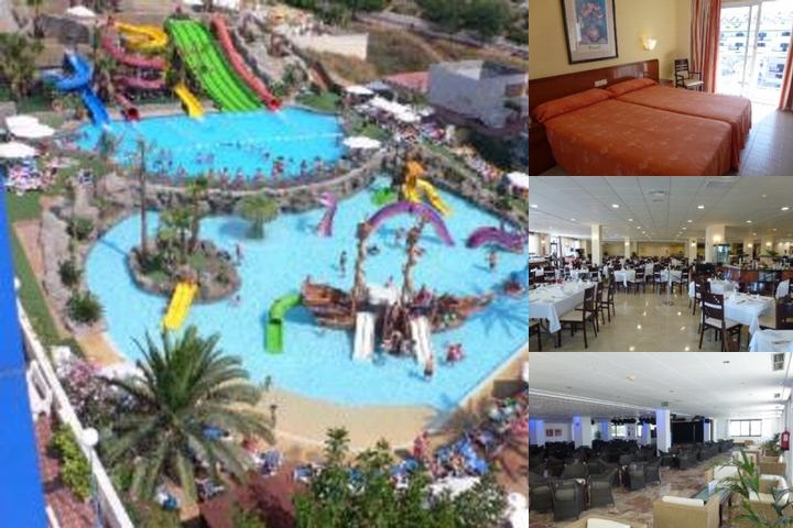 Hotel Los Patos Park photo collage