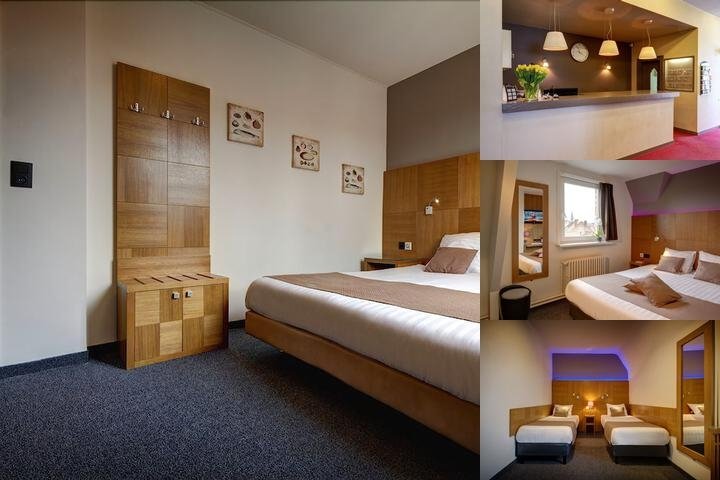 Jacobs Hotel Brugge photo collage