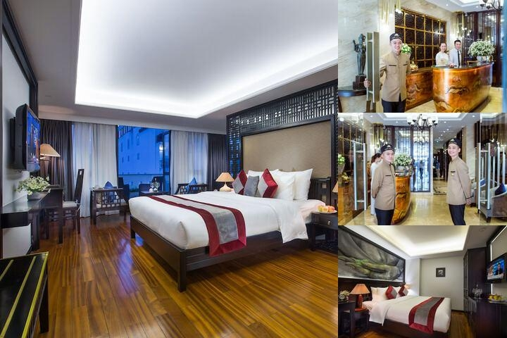 Golden Lotus Hotel photo collage