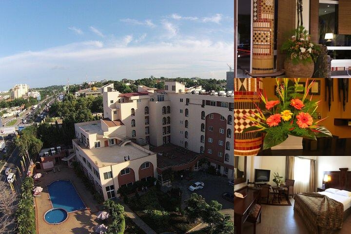 The African Regent Hotel photo collage