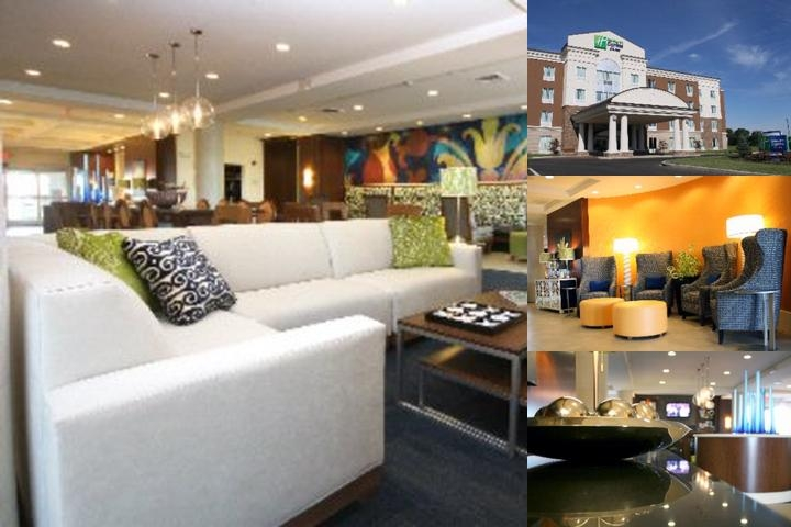 Holiday Inn Express Hotel & Suites Terre Haute photo collage