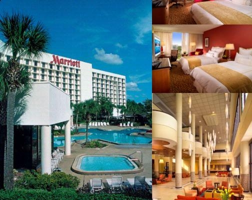 Orlando Airport Marriott photo collage