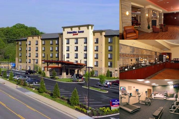 Springhill Suites Pigeon Forge photo collage